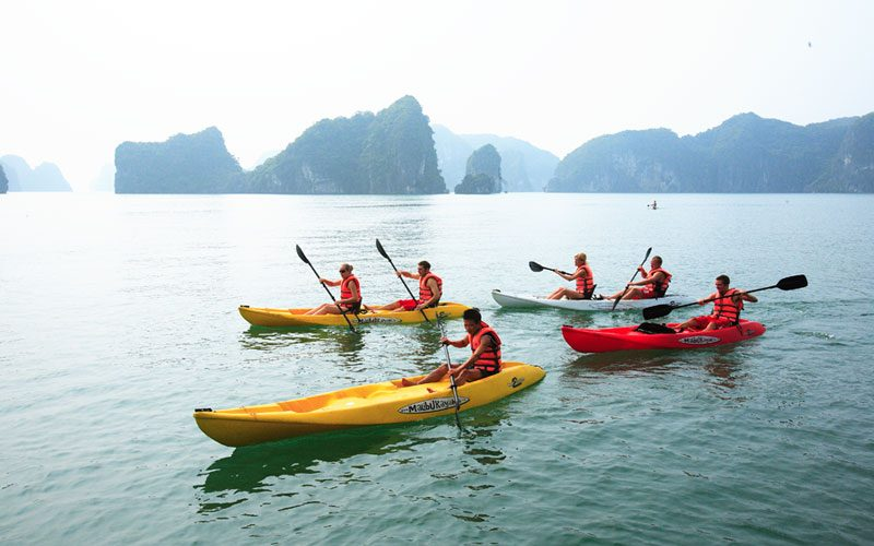 Bai Tu Long Bay-Halong Bay vacation of 2 days 1 night