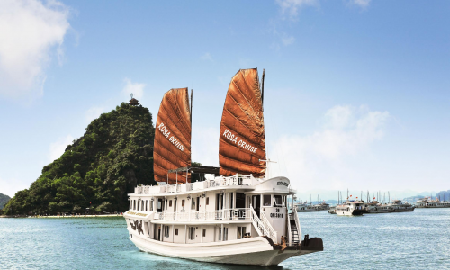 Halong Bay expedition in 2 days 1 night